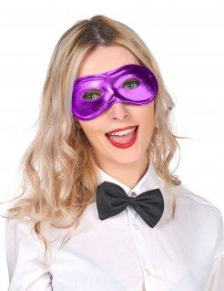 Dominomaske Augenmaske lila