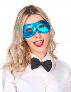 Augenmaske Karnevalsmaske blau