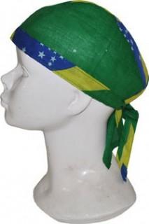 Brasilien Bandana Fanartikel grün-gelb-blau