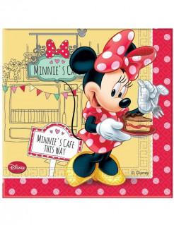 Minnie Mouse Servietten Party-Deko bunt 20 Stück 33x33cm