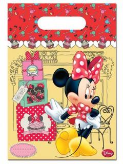 Geburtstagstüten Micky Maus Disney-Lizenzartikel 6 stück bunt