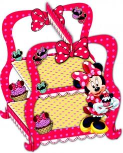 Minnie Maus Cupcake-Ständer Disney Lizenzartikel bunt
