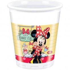 Minnie Mouse Partybecher Party-Deko 8 Stück bunt 200ml