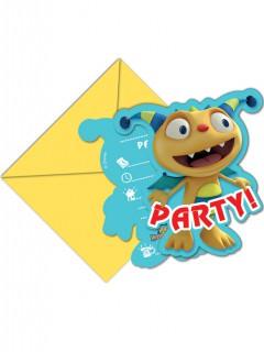 Henry Knuddelmonster™ Einladungskarten mit Umschlägen 6 Stück Lizenzware