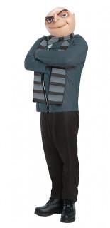 Erwachsenenkostüm Gru  Ich - Einfach unverbesserlich Lizenzkostüm grau-schwarz-haut