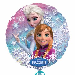 Luftballon Aluminium Eiskönigin Frozen Disney-Lizenzartikel bunt 45 cm