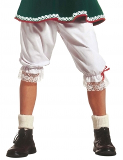 Lange Unterhose Kostümzubehör weiss