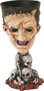 Texas Chainsaw Massacre Halloween-Becher Partydeko Lizenzware bunt 8,5x18cm