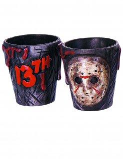 Feitag der 13.™ Halloween-Schnapsgläser 2 Stück Lizenzprodukt