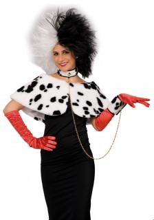 Dalmatiner-Kostüm-Set 3-teilig weiss-schwarz
