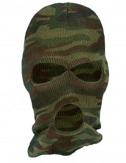 Militär-Tarnmaske Sturmhaube Kostüm-Accessoire camouflage