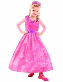 Barbie Kostüm für Mädchen Lizenzartikel Pink-lila