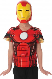 Set Iron Man The Avengers für Kinder rot-gelb