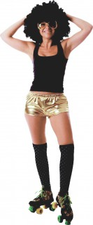 Disco-Hotpants 70er-Hotpants gold