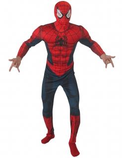 Spiderman Deluxe Kostüm Comic dunkelblau-rot