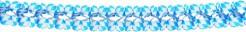Bierfest Girlande Oktoberfest blau-weiss 3,5 m