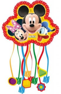 Mickey Mouse PiñataDisney-Lizenzartikel bunt 28 x 22 x 13,5 cm