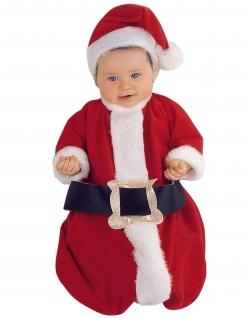 Baby Luxus Weihnachtskostüm Schlafsack bunt 60 cm