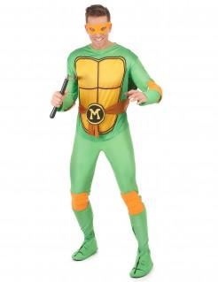 Teenage Mutant Ninja Turtles Michelangelo Kostüm Lizenzartikel grün-gelb