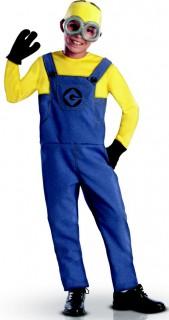 Minions Dave Kinderkostüm Lizenzware blau-gelb-schwarz