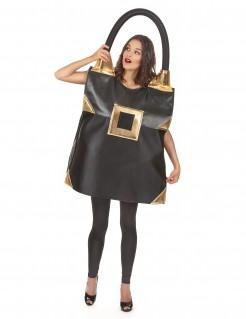 Taschen-Kostüm Accessoire für Damen - schwarz