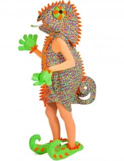 Chamäleon-Kostüm für Damen bunt