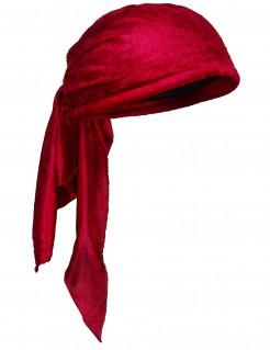 Erwachsenen Piratentuch Accessoire rot