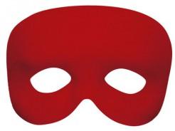 Geheimnisvolle Augenmaske Kostümzubehör Accessoire rot