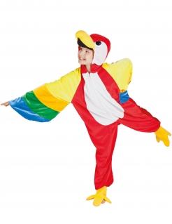 Kinderkostüm Papagei - bunt