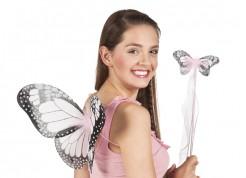 Set Schmetterlingsflügel für Mädchen