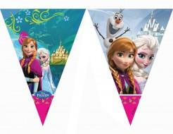 Disney Frozen Wimpel-Girlande Kinderparty-Deko bunt 200cm
