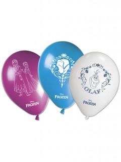 Luftballons Die Eiskönigin Disney-Lizenzartikel 8 stück bunt
