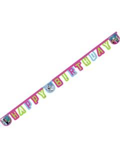 Disney Frozen Geburtstags-Girlande Kinderparty-Deko bunt 215cm