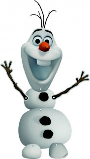 Disney Frozen Hängefigur Olaf Kinderparty-Deko bunt