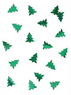 Tannenbäume Konfetti grün 10g