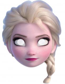 Disney Die Eiskönigin Elsa Maske Lizenzware bunt