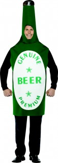 Herren Bier-Kostüm grün