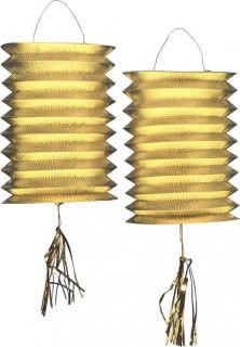 2 Lampion - Gold