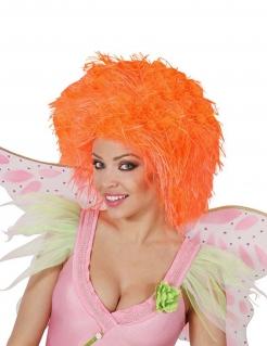 Fee Kurzhaar-Perücke neon orange