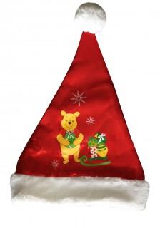 Weihnachtsmann-Kindermütze Winnie the Pooh