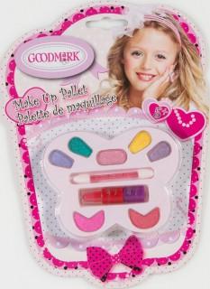 Make-Up Schminkset Schmetterling Mädchen 13-teilig pink