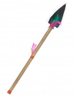 Indianer Speer Kostüm-Zubehör bunt