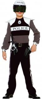 Polizist Kostüm-Set für Kinder mit Accessoires