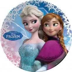 Teller Disneys Eiskönigin Lizenzartikel bunt 22cm