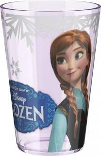 Trinkglas Disneys Frozen Anna Lizenzartikel bunt 24cl