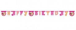 Party Deko Girlande Happy Birthday Lizenzartikel Mia and Me bunt 1,80m