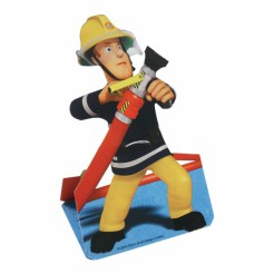 Sam der Feuerwehrmann™ Einladungskarten 8 Stück Lizenzartikel