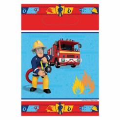 Sam der Feuerwehrmann™ Partytüten 8 Stück Lizenzartikel