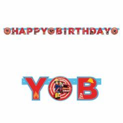 Sam der Feuerwehrmann™ Geburtstagsgirlande Happy Birthday Lizenzware