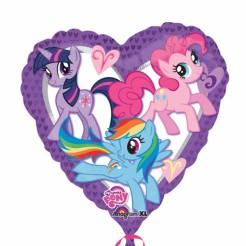 Ballon Alufolie Mein kleines Pony